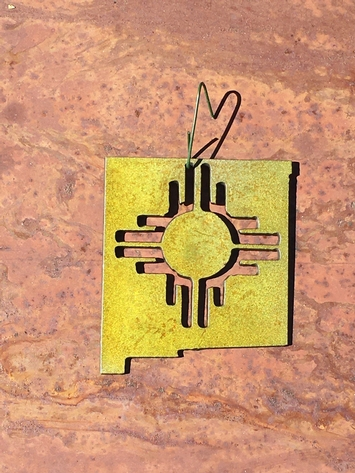 New Mexico True Ornament
