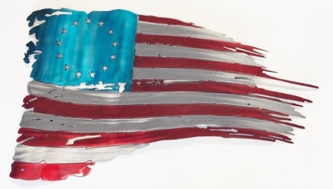 American Flag with 13 Stars